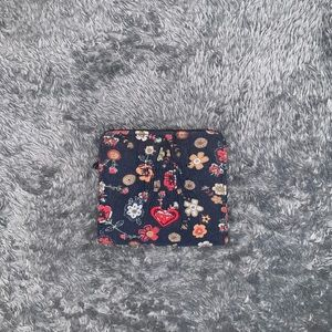 Roxy girl floral wallet